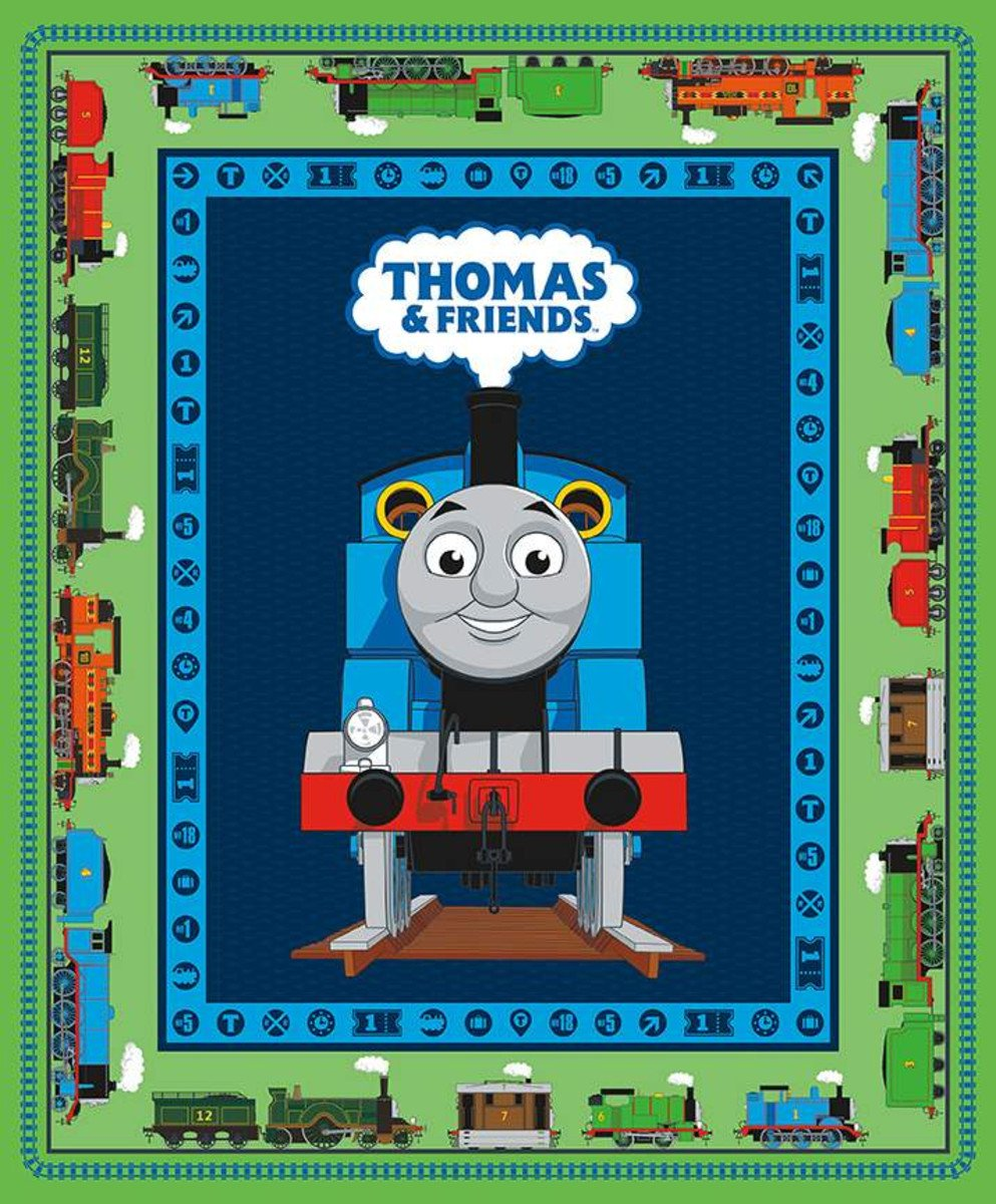 All Aboard with Thomas and Friends Panel Green