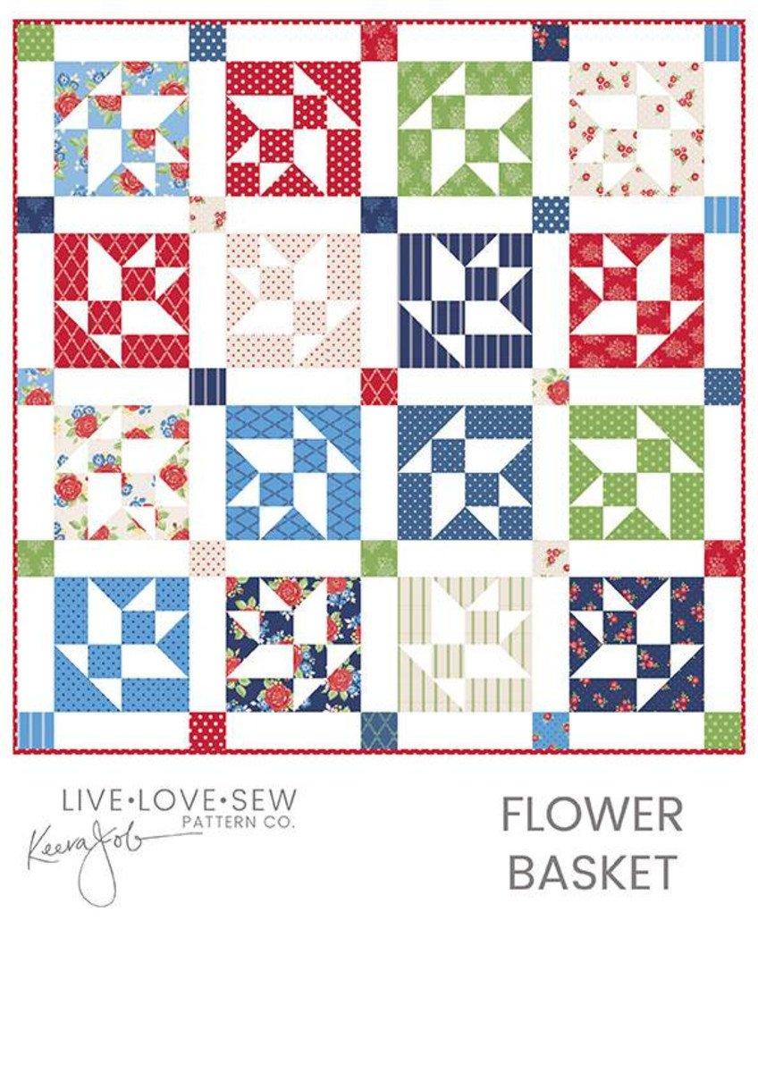 flower Basket by Keera Job