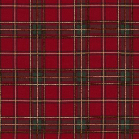 Holiday Harvest Plaid Red