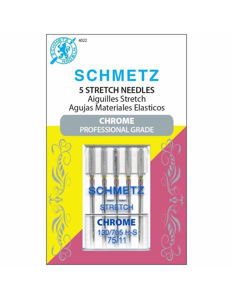 Schmetz Chrome Stretch Needles 75/11