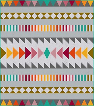 Desert Horizon Quilt Kit