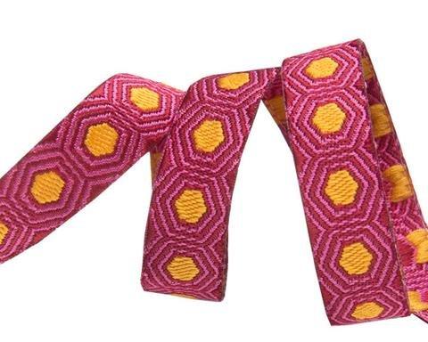 Tiny Gold Dots Ribbon by Tula Pink