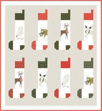 Merriment Stockings by Gingerber