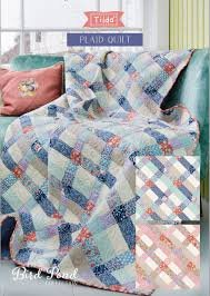 Plaid Quilt by Tilda - Blue