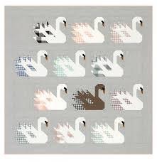 Swan Island Lap Quilt Kit