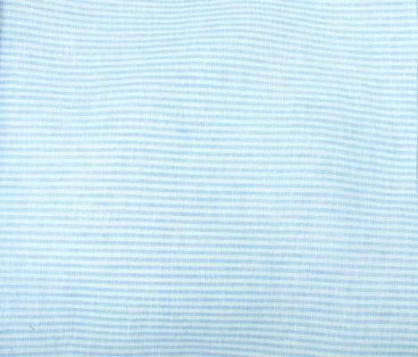 Umbria Linen Big Stripe - Light Blue