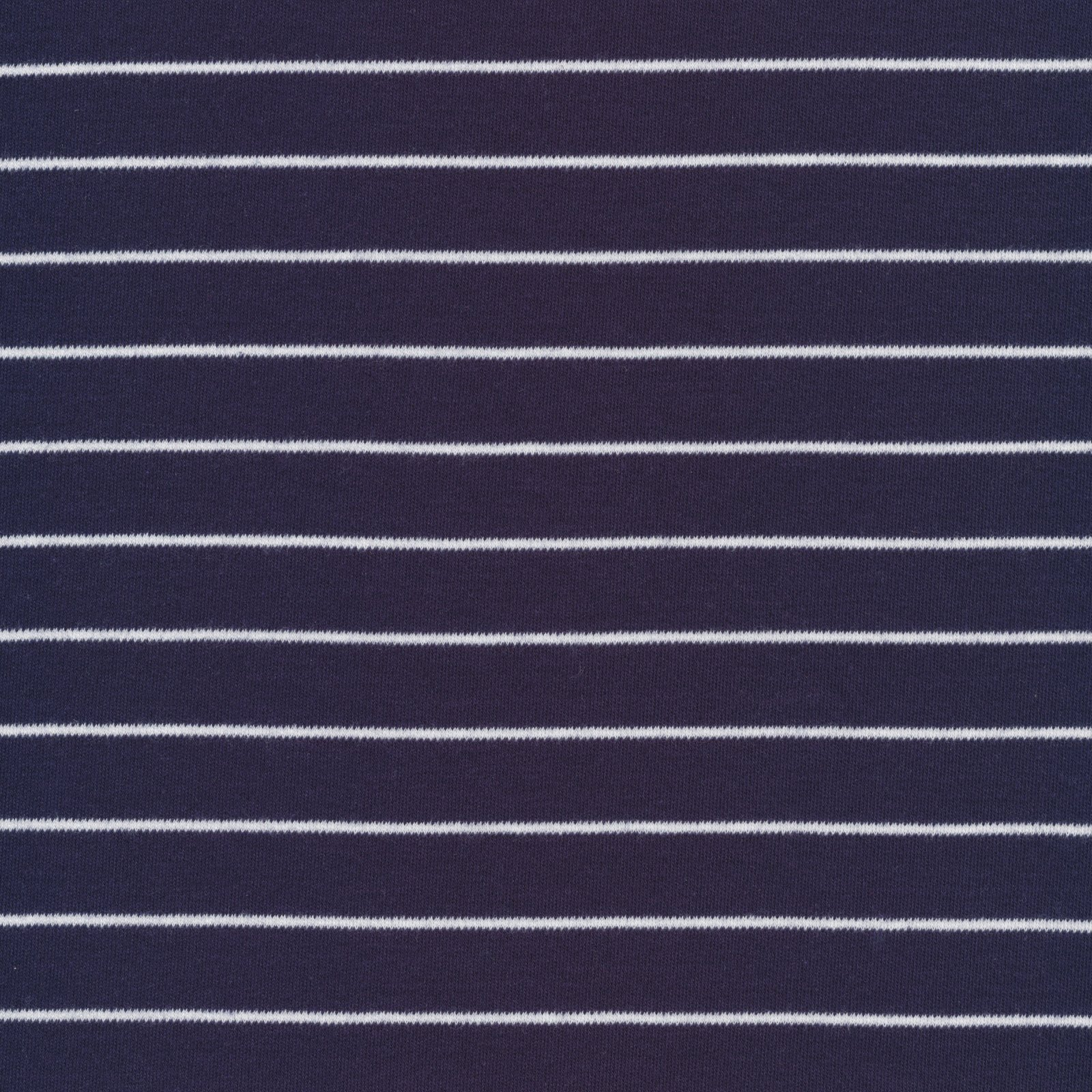 Cloud 9 - Organic Cotton Knit - Stripes - Navy