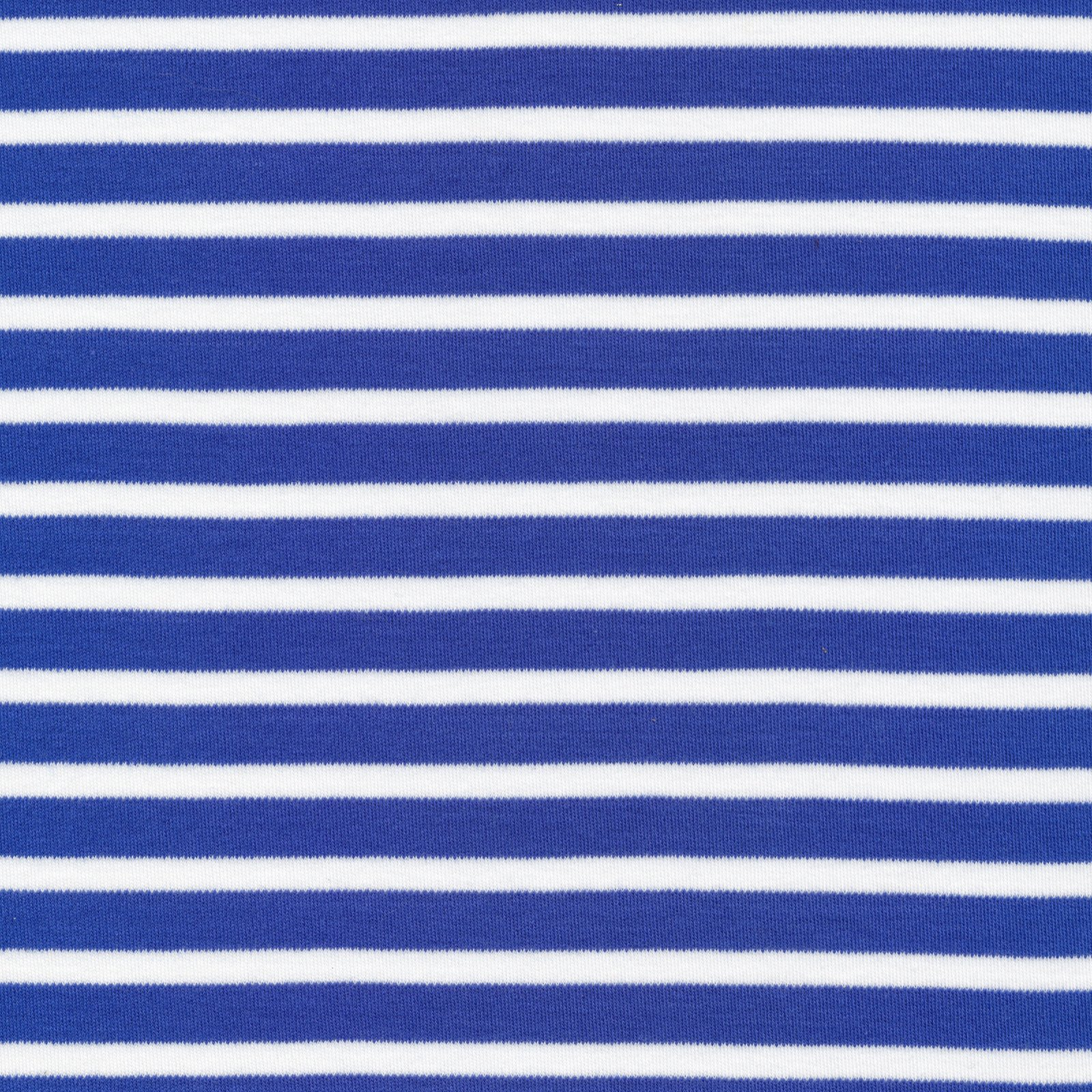 Cloud 9 - Organic Cotton Interlock - Colorful Stripe - Blue