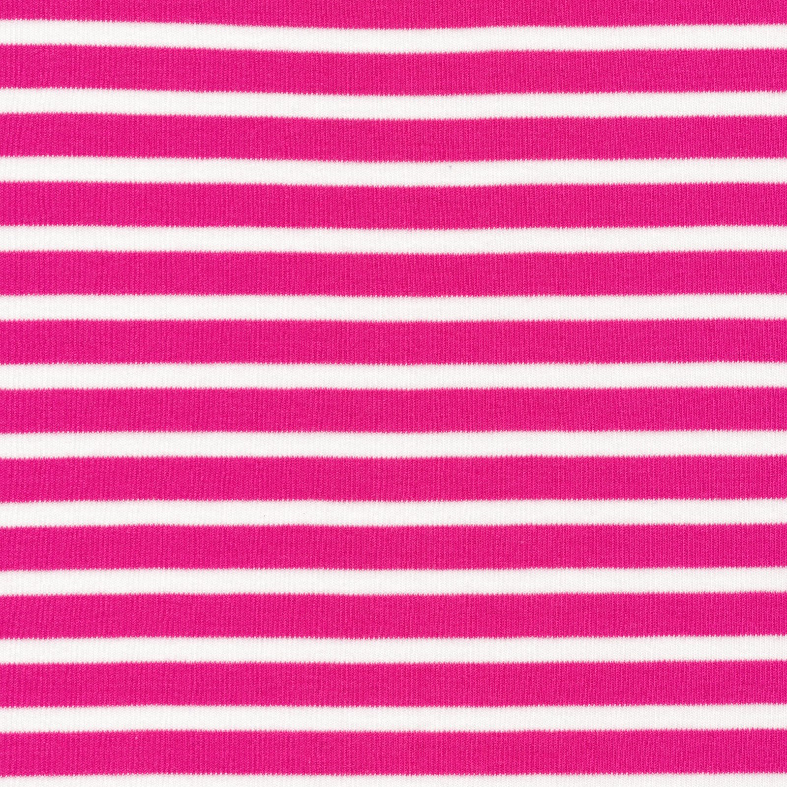 Cloud 9 - Organic Cotton Knit - Colorful Stripes - Pink