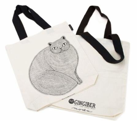 Gingiber Catnip Tote Bag