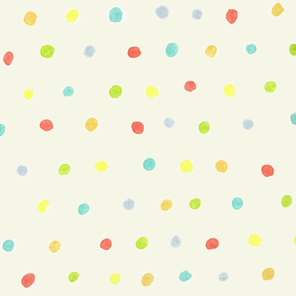 Nani Iro - Double Gauze - Colorful Pocho Dot - Harmonic