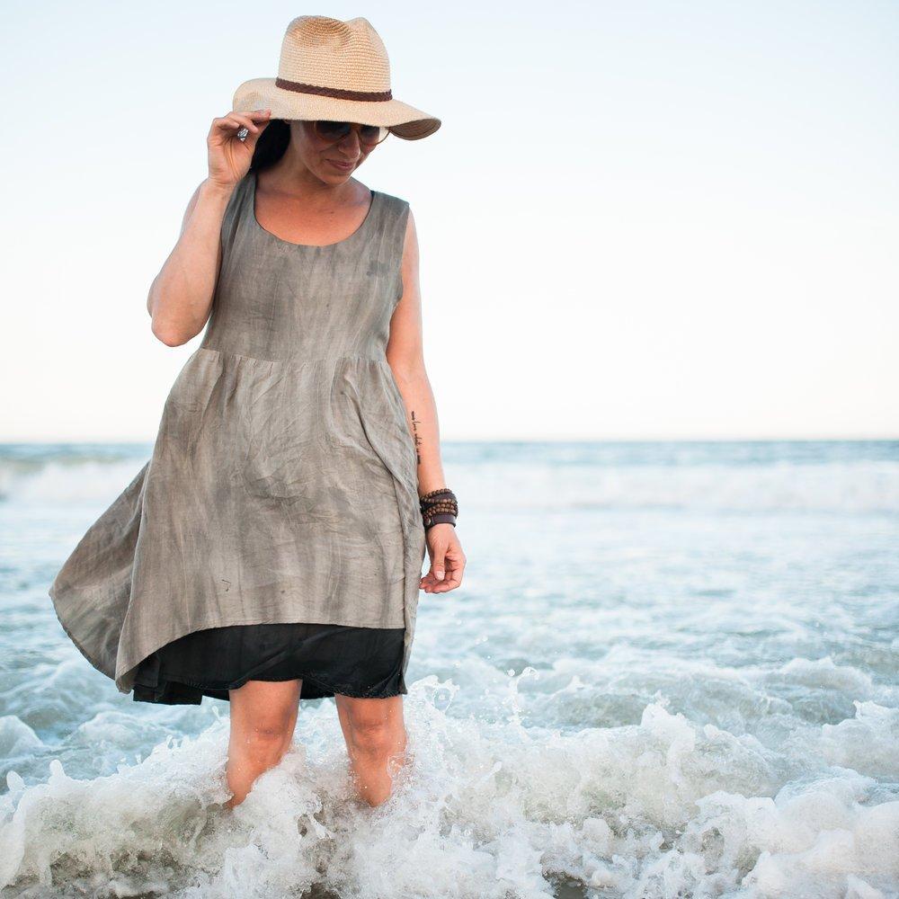 Metamorphic Dress Kit - Sandwashed Rayon Challis