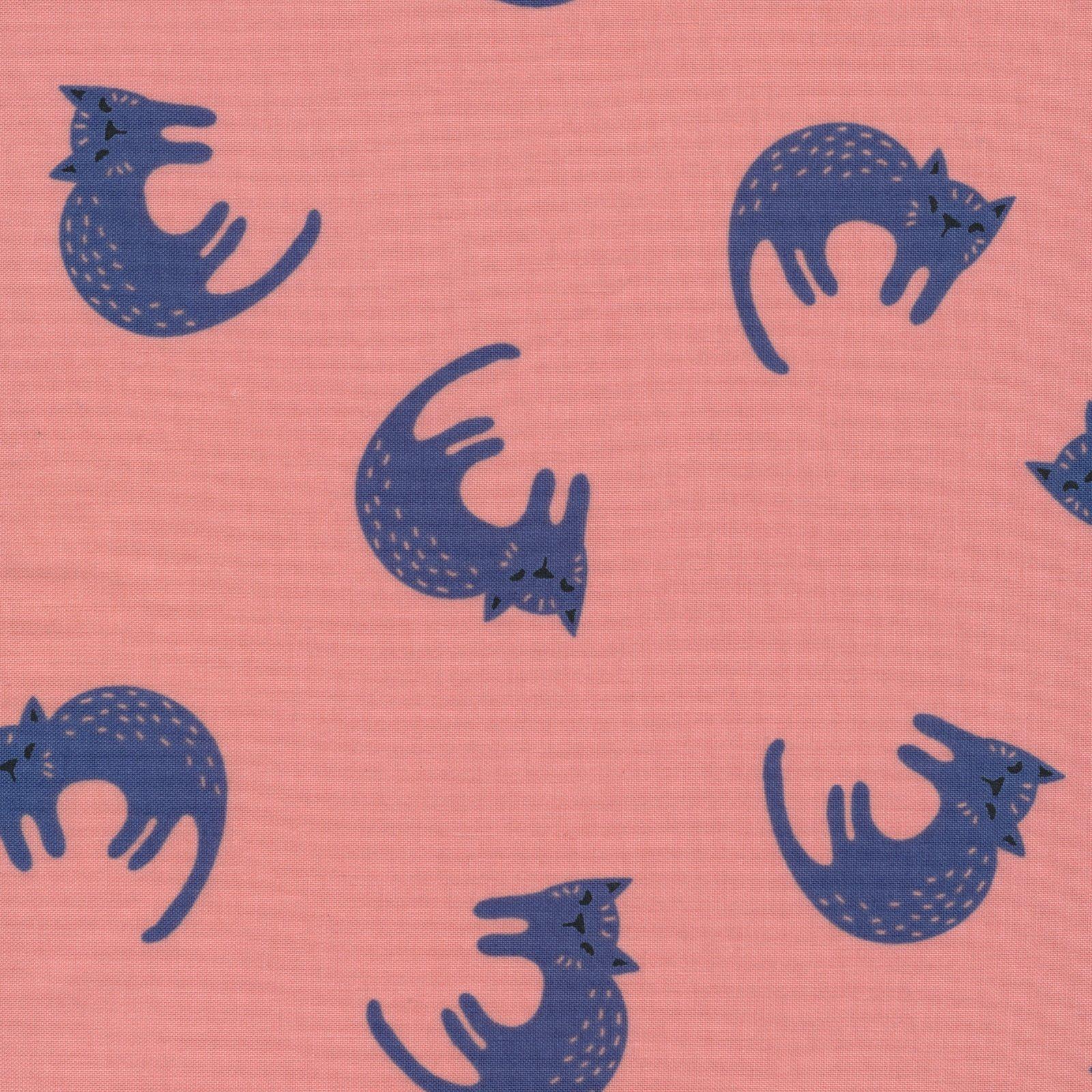 Cloud 9 - Matte Laminated Cotton - Sweet Cats