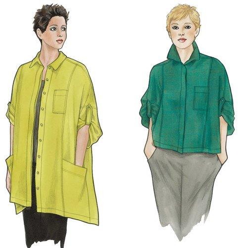 Balboa Shirt & Topper Pattern - Sewing Workshop