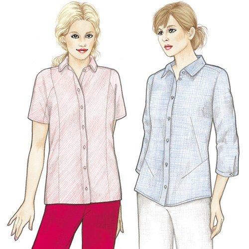 Siena & Cortona Top Pattern - Sewing Workshop