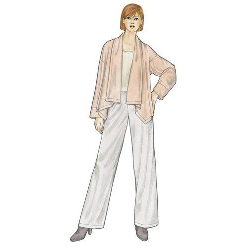 Valencia Jacket & Pants Pattern - Sewing Workshop