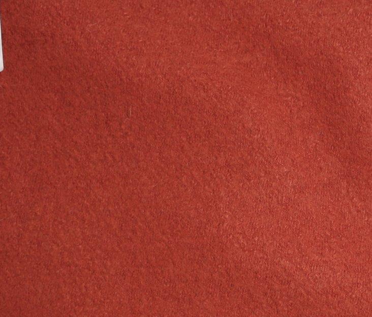 Boiled Wool/Viscose - Brick