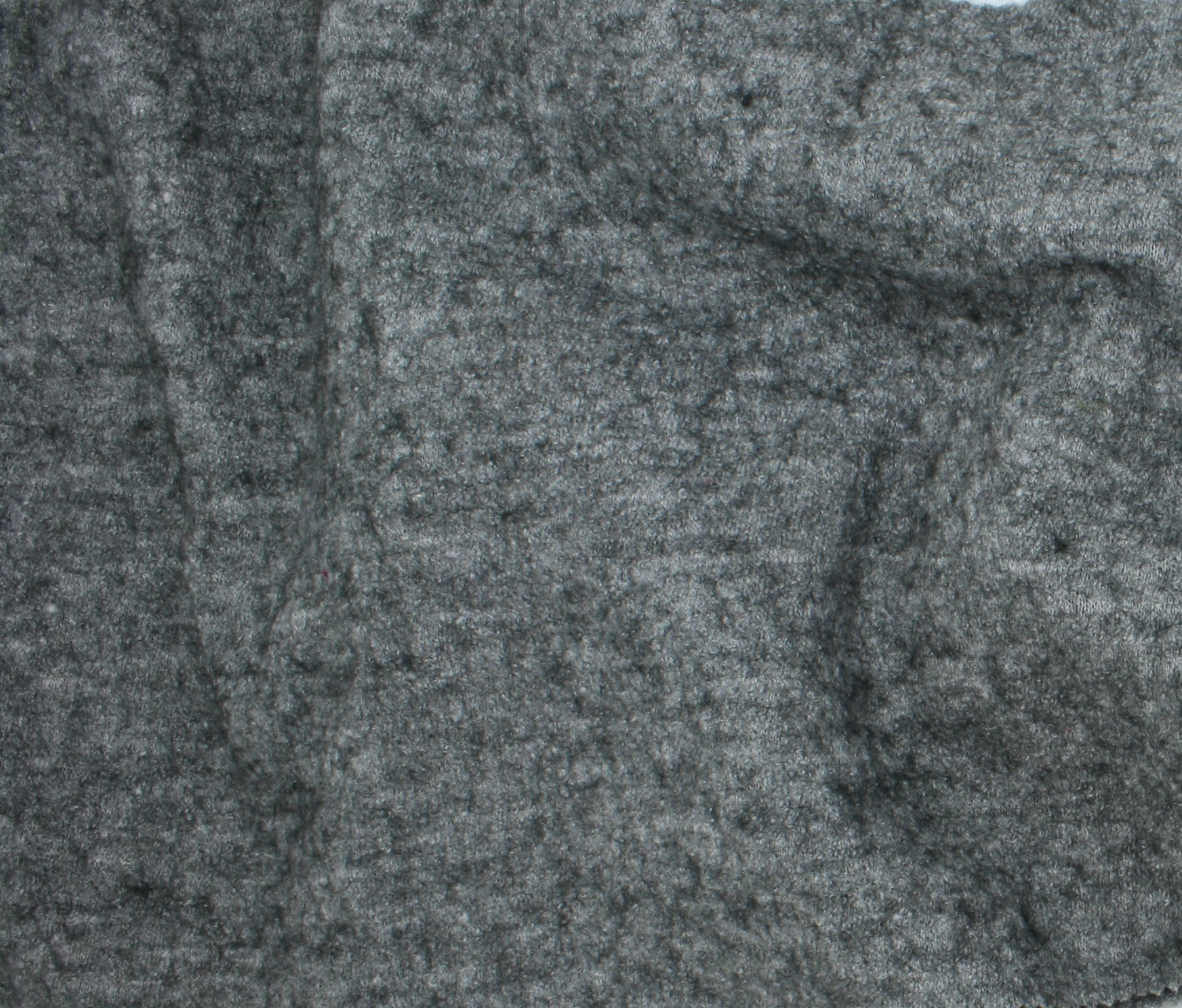 Boiled Wool/Viscose - Heathered Grey