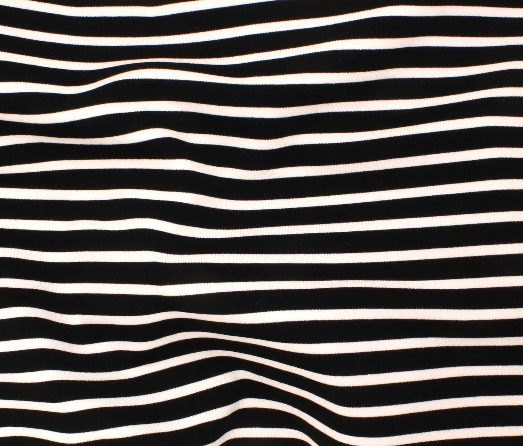 St. James Stripe - Black