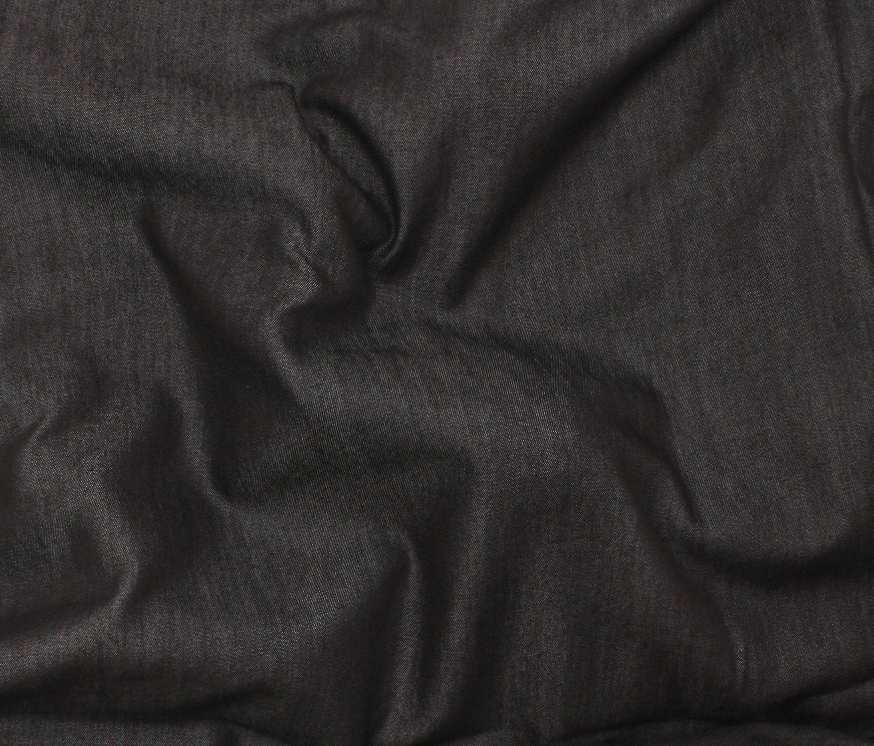 4.5 oz Tencel Denim - Black