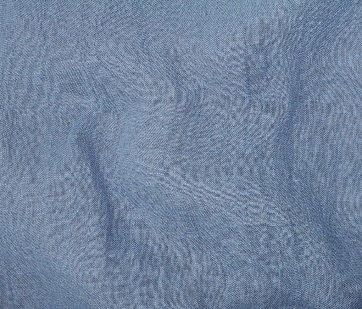 Mozart Linen - Chalk Blue