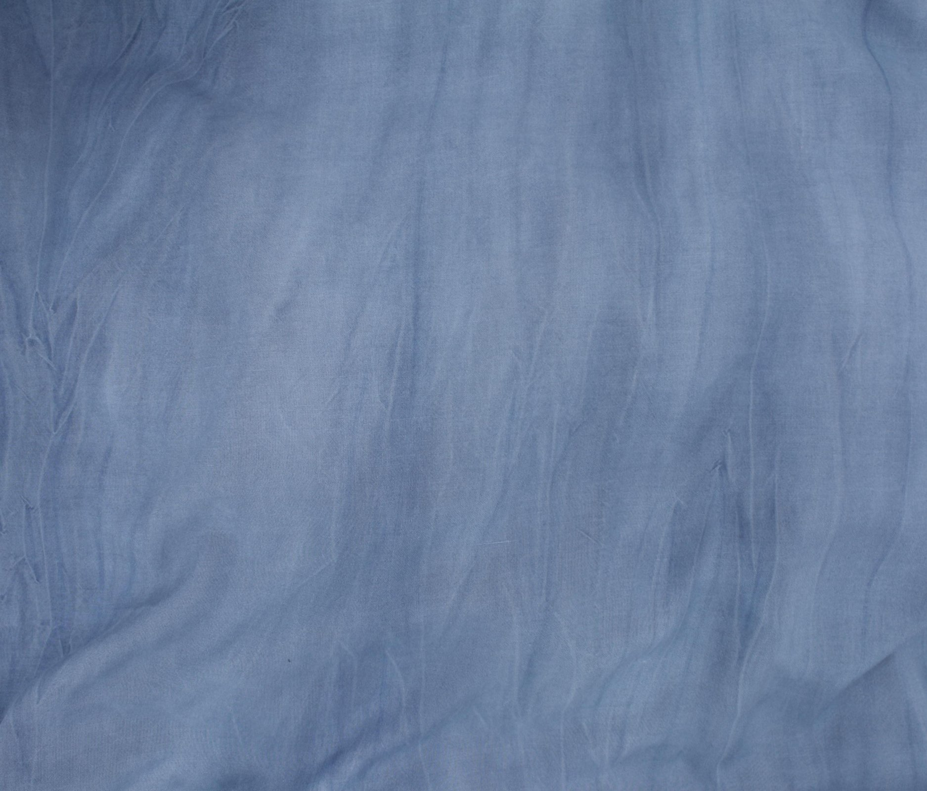 Sandwashed Rayon Challis - Denim Blue