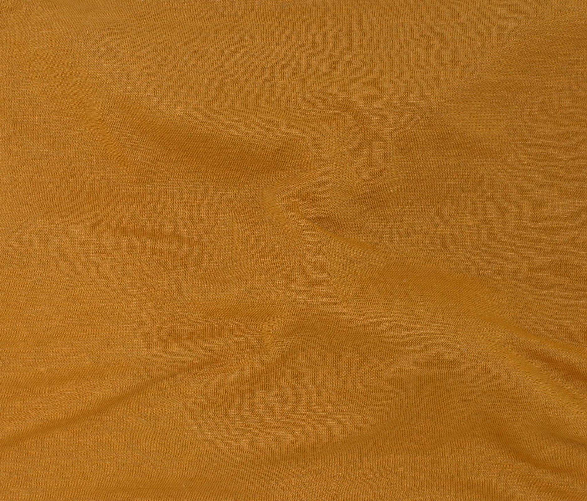 Bamboo/Linen Knit - Mustard