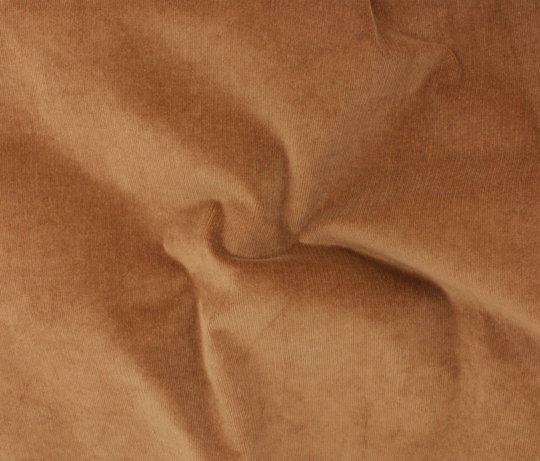 21 Wale Stretch Corduroy - Leather