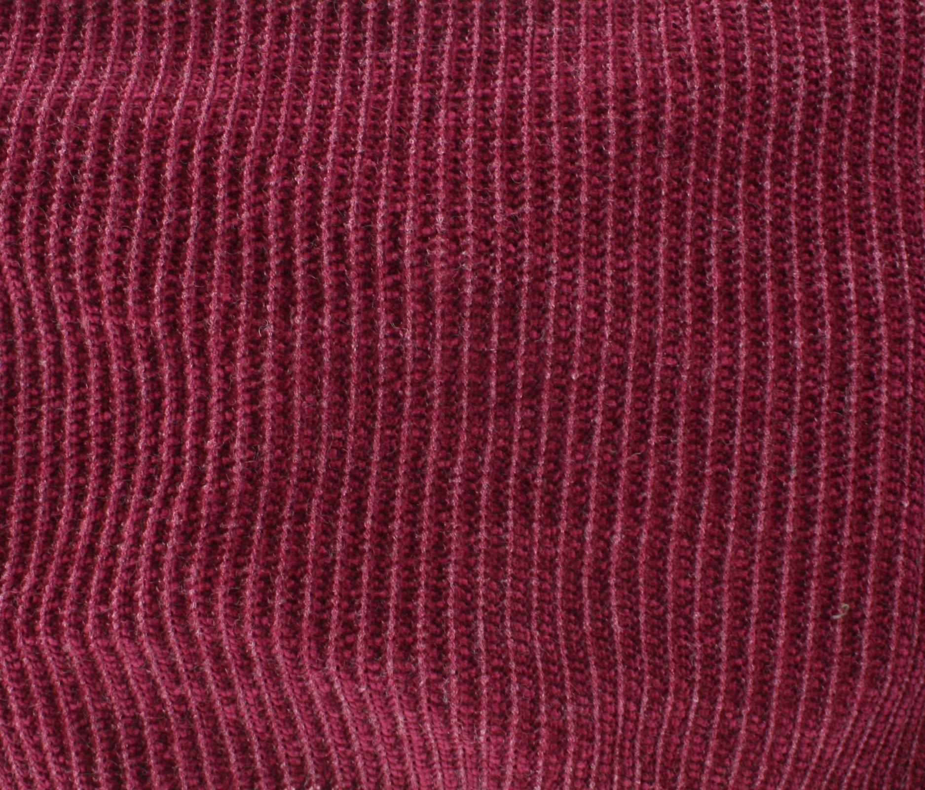 Chenille Knit - Wine