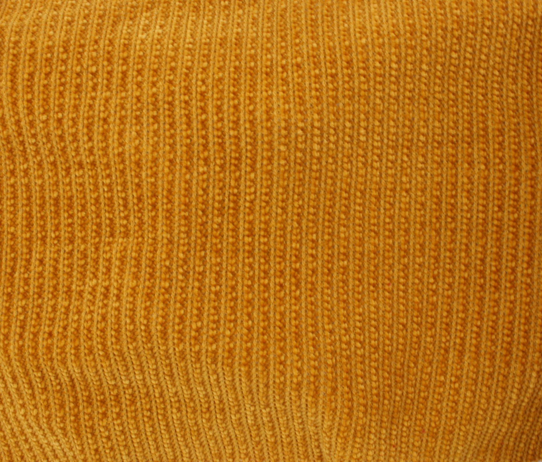 Chenille Knit - Mustard