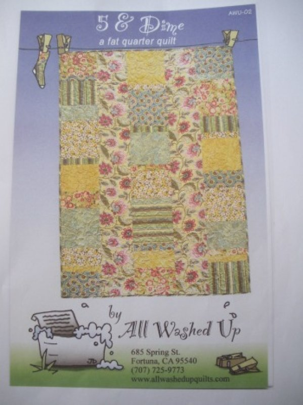 5 & Dime - All Washed Up : all washed up quilt patterns - Adamdwight.com