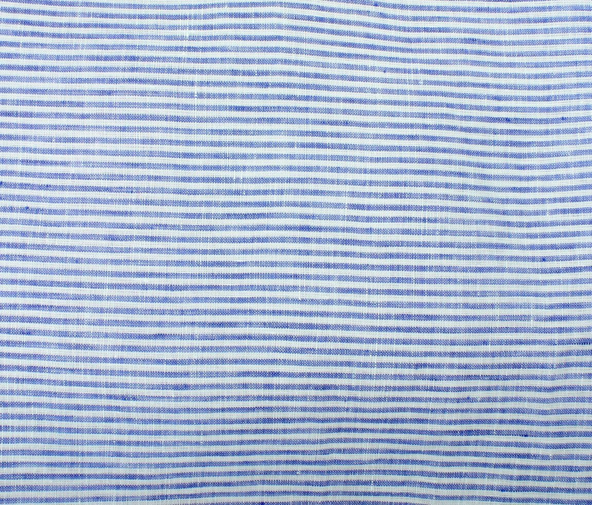Umbria Linen Big Stripe - Blue