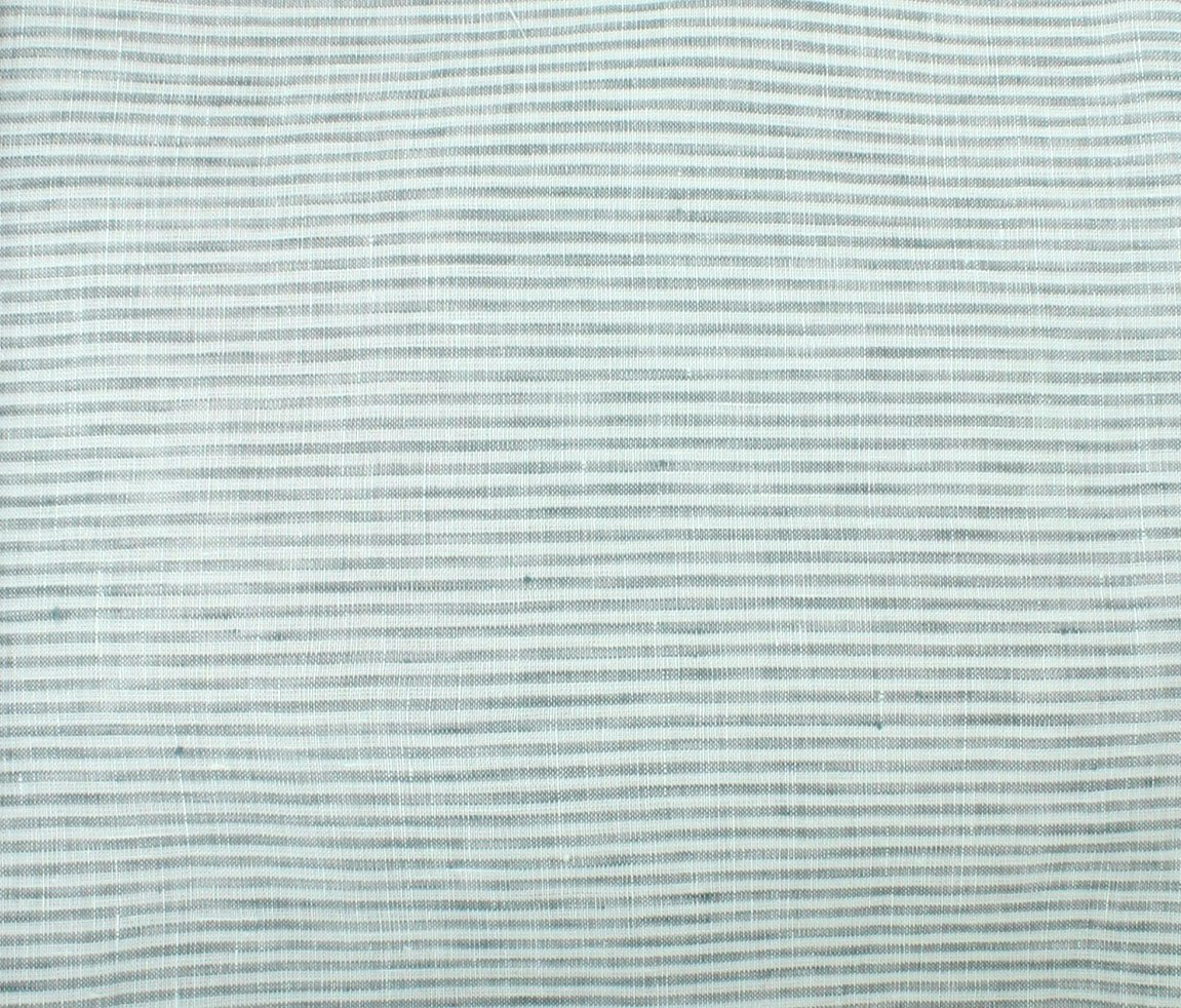 Umbria Linen Big Stripe - Grey
