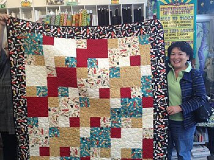 40 Take 40 With Mary Hall Patrone Enchanting Take 5 Quilt Pattern