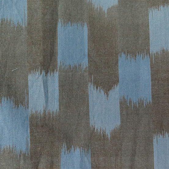 Dream Weaves Ikat - Blocks - Blue/Black