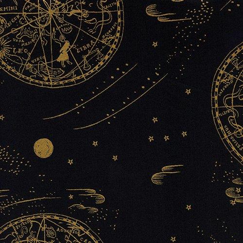 Menagerie - Cotton Lawn - Celestial - Navy