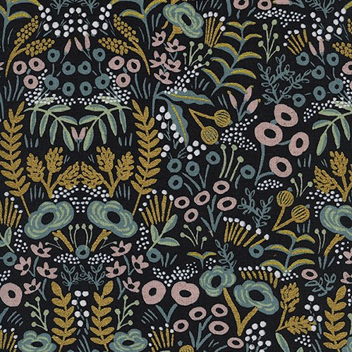 Menagerie by Rifle Paper Co. Canvas - Tapestry Midnight