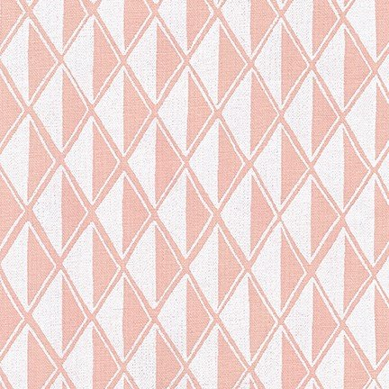 Arroyo Essex Linen - Diamonds - Peach