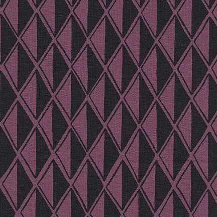 Arroyo Essex Linen - Diamonds - Plum