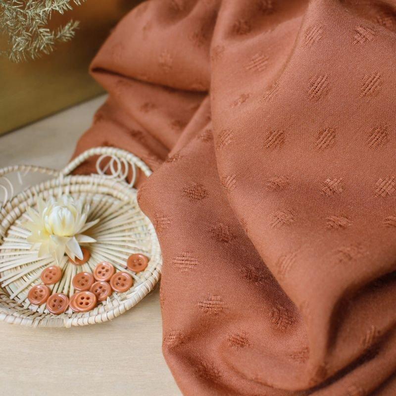 Atelier Brunette - Diamond Rayon - Chestnut
