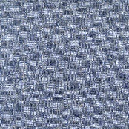 Brussels Washer Linen/Rayon Yarn Dyed - Denim