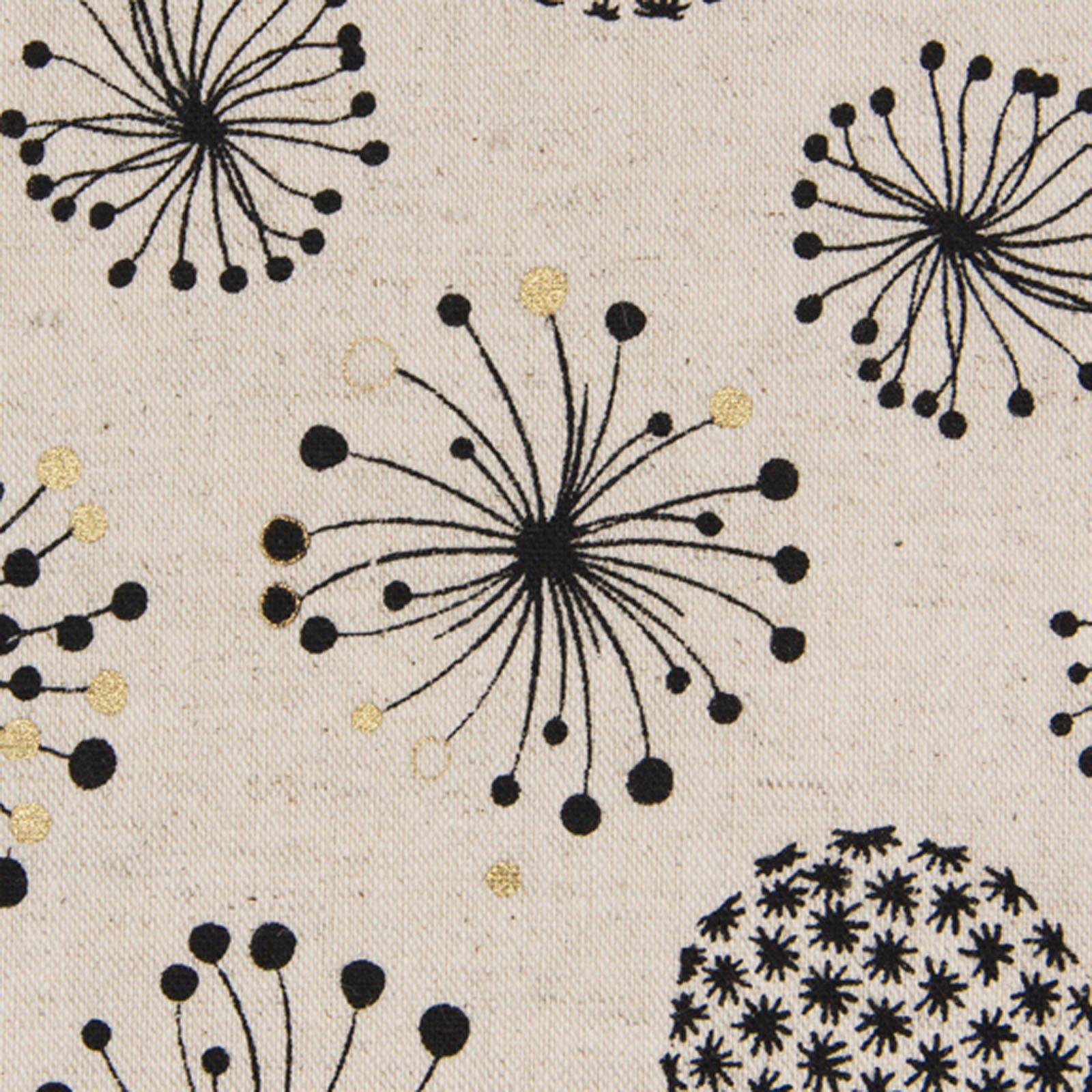 Cosmo - Cotton/Linen Canvas - Dandelion Puffs
