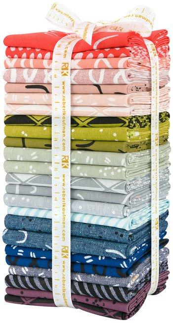 Arroyo Essex Linen - Fat Quarter Bundle - Bright