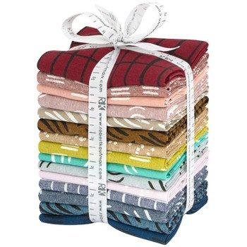 Balboa Essex Linen - Fat Quarter Bundle - Bright