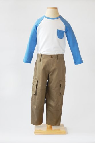Field Trip Cargo Pants + Raglan T-shirt