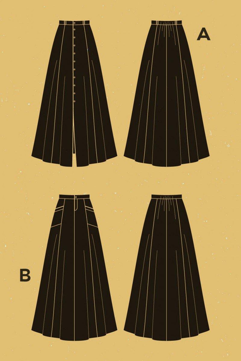 Fumeterre Skirt