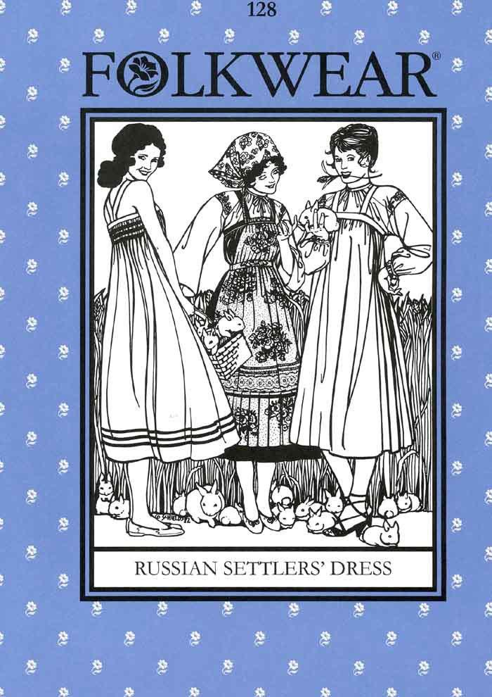 Russian Settler's Dress - #128