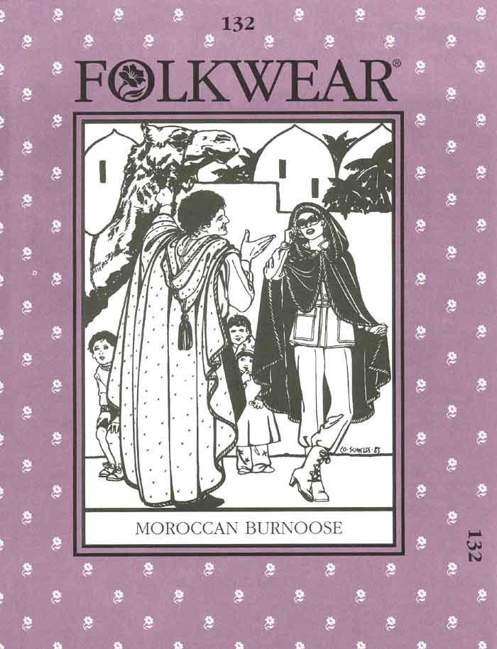Moroccan Burnoose - #132