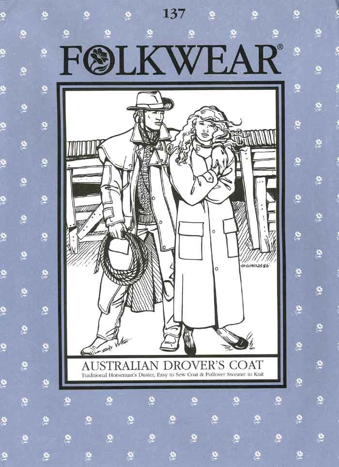 Australian Drover's Coat - #137