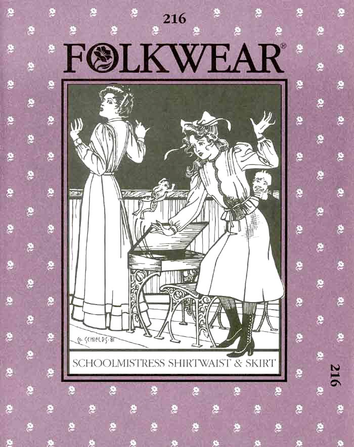 Schoolmistress' Shirtwaist & Skirt